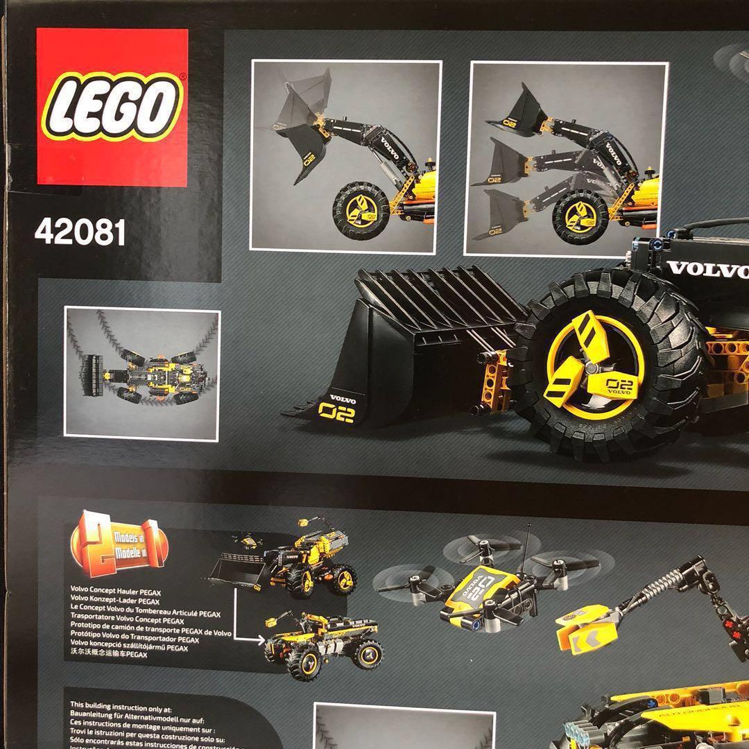 LEGO Technic 42081 Volvo Konzept Radlader Zeux PEGAX Concept Wheel Loader