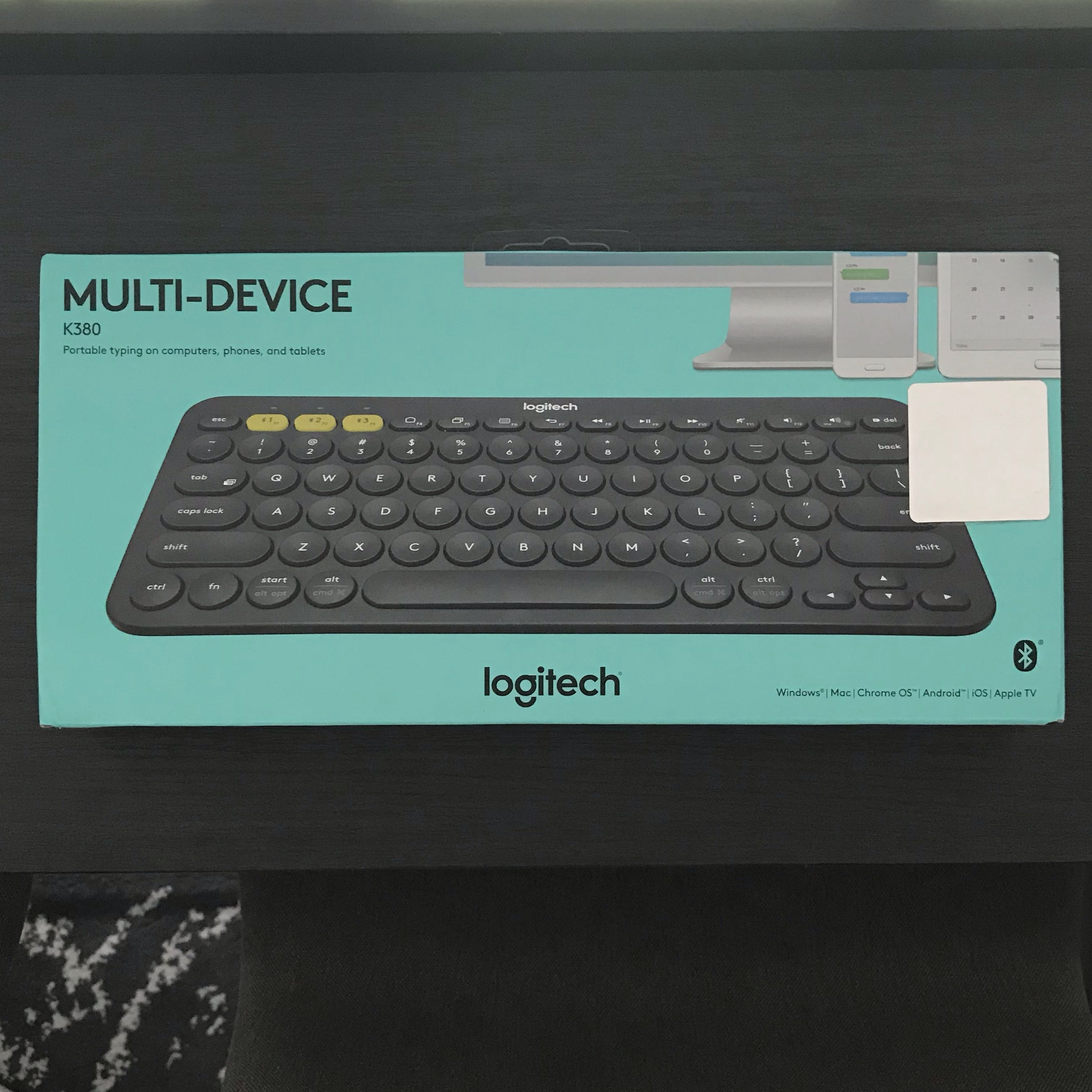 08d762ccb3d Logitech K380 Bluetooth Keyboard, Electronics, Others on Carousell