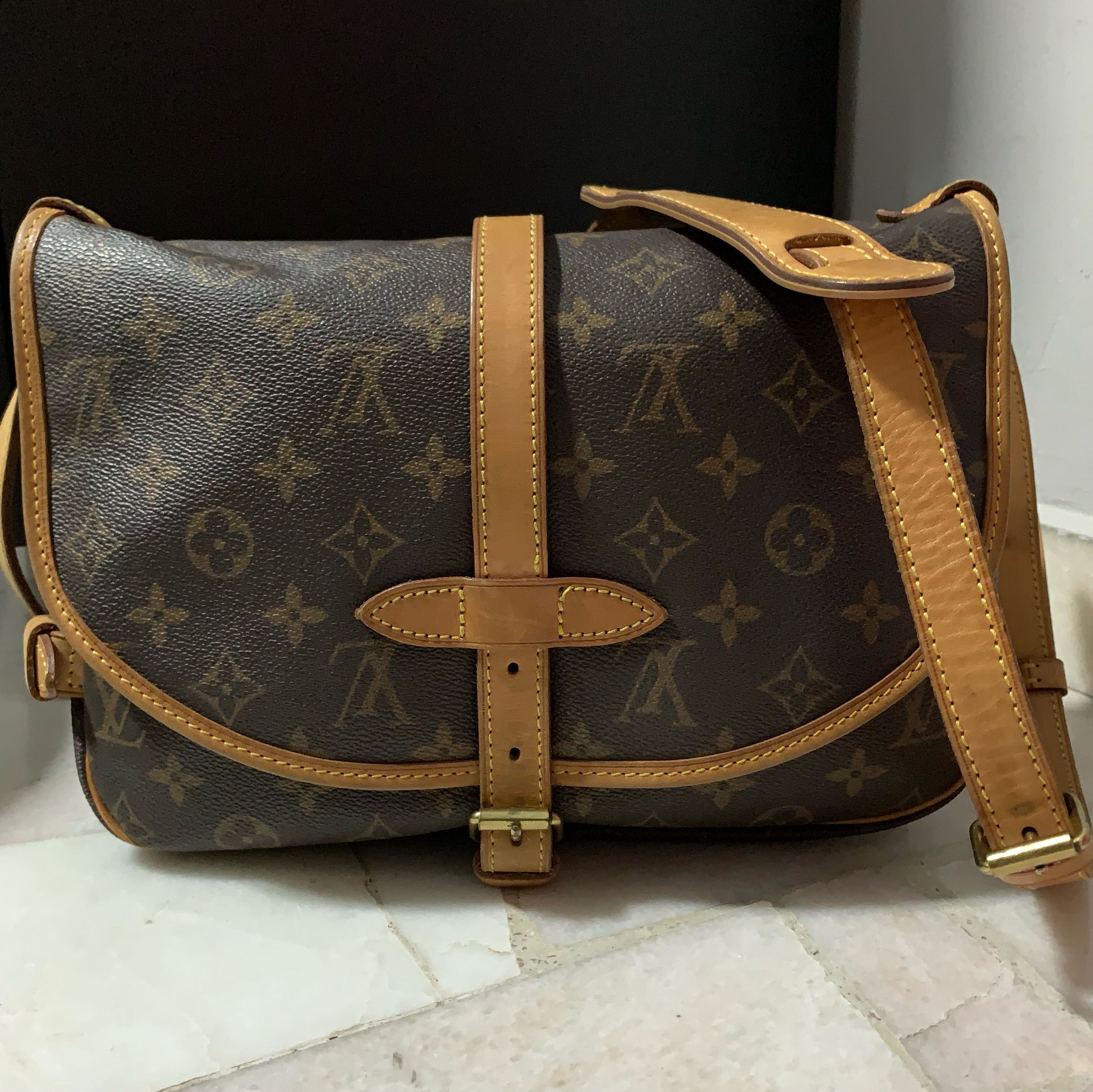 Louis Vuitton Saumur 30 c48d95600