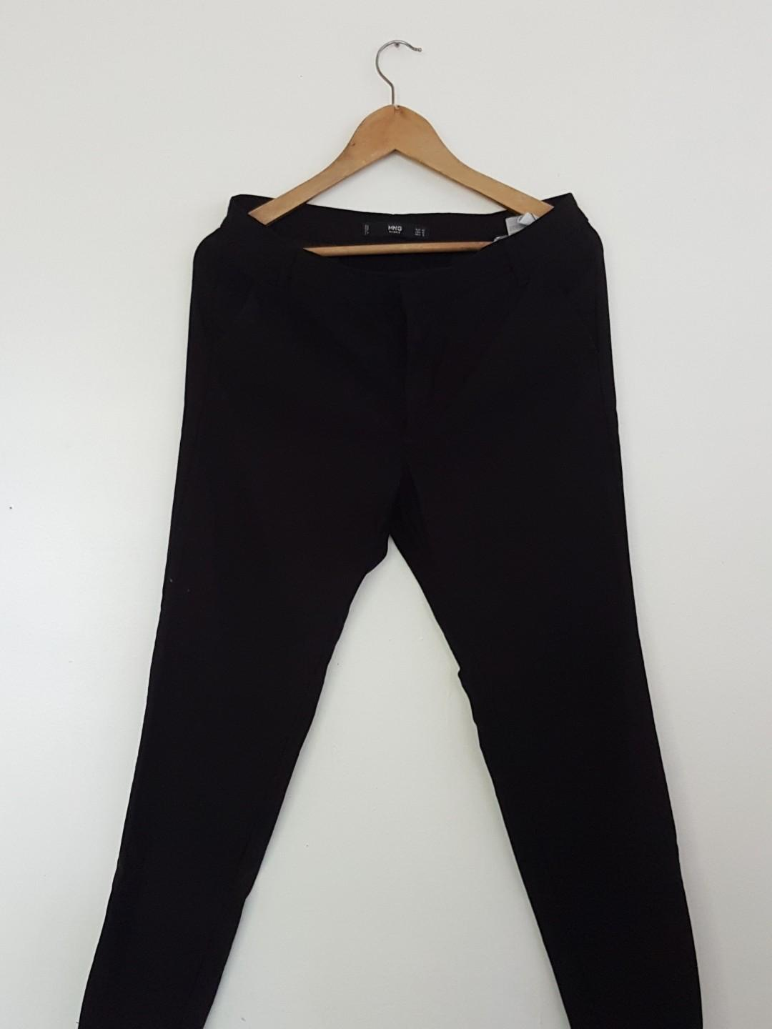 6ebbb87f5 MANGO Black Slacks on Carousell