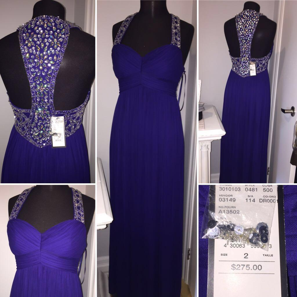 NEW W TAGS Formal Dress Size 2 Paid $310!