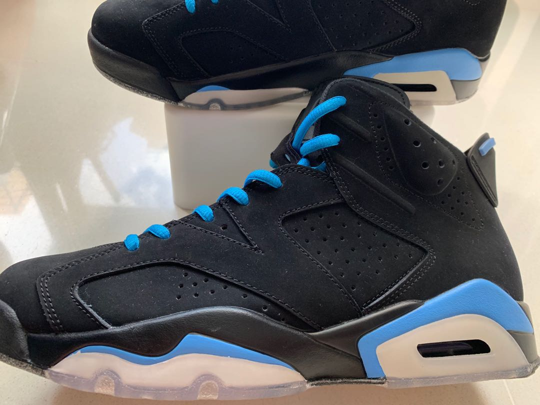 competitive price 739c3 655ec Nike Air Jordan 6 (Black UNC US9.5)