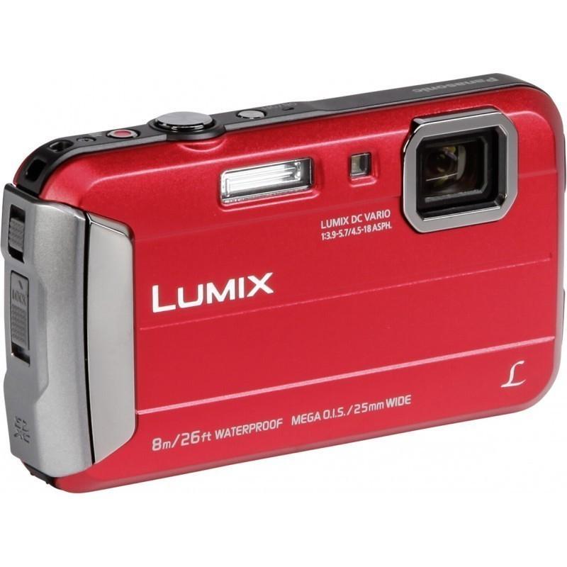 BNIB Panasonic Lumix DCM-FT30 Red