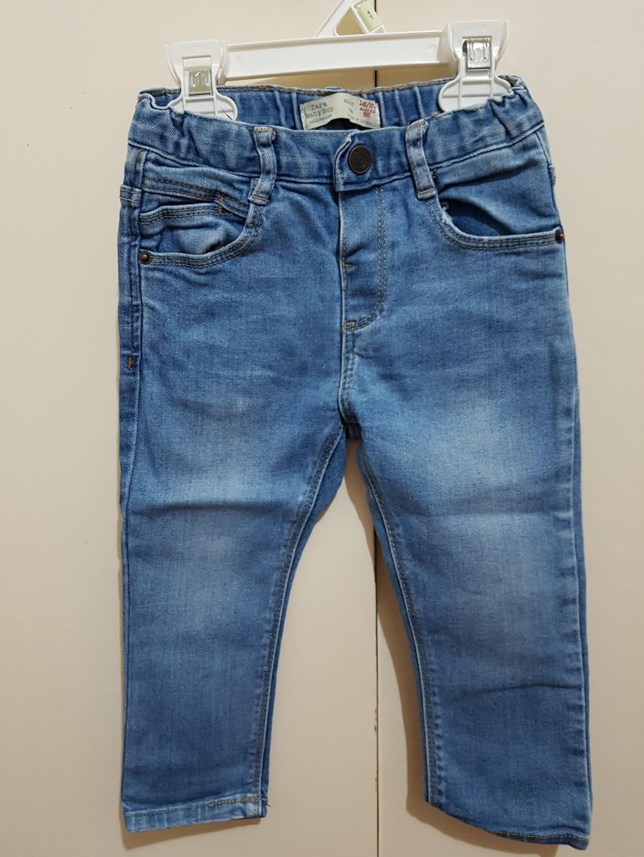 0744c8361c26 Zara jeans for 18-24 months old toddler boy