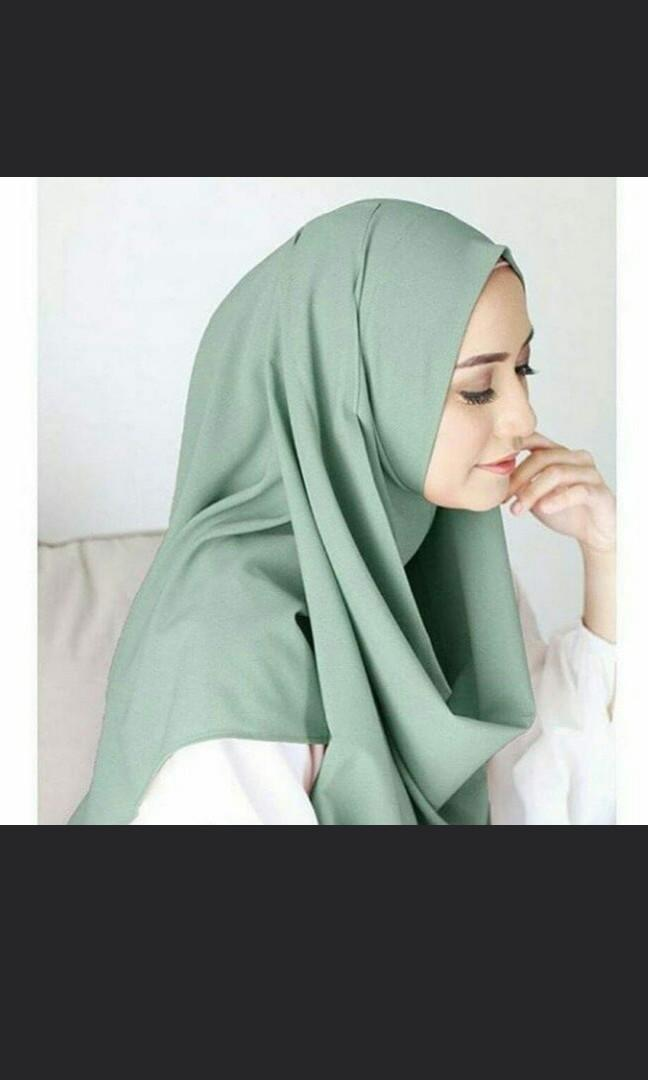 Pasmina Instan Isabel (NEW!) Ready Tosca and Black