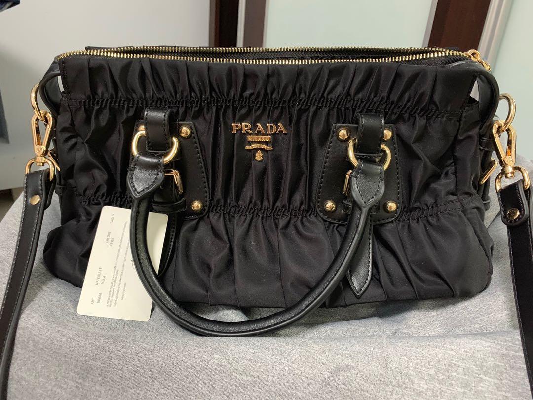 c4a47c7f913e Prada bag, Luxury, Bags & Wallets, Handbags on Carousell