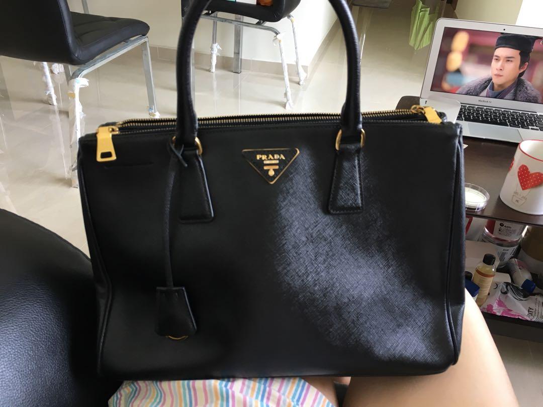 425bca10681c Prada Galleria large textured leather bag