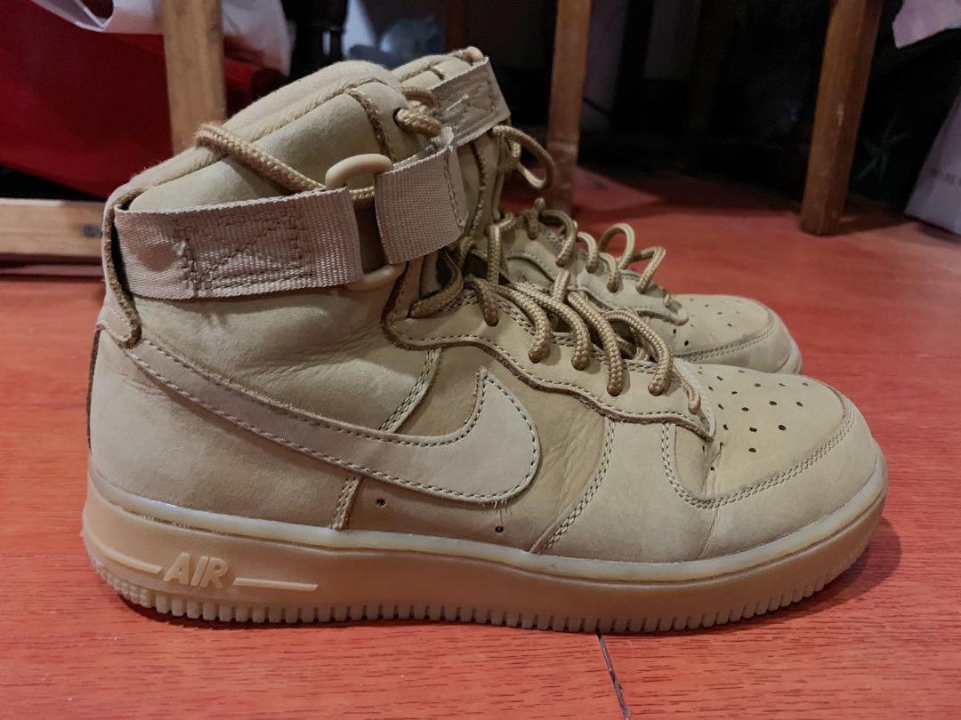 uk availability ce3cd 9b472 RUSH: Nike Airforce 1 (Wheat) - womens