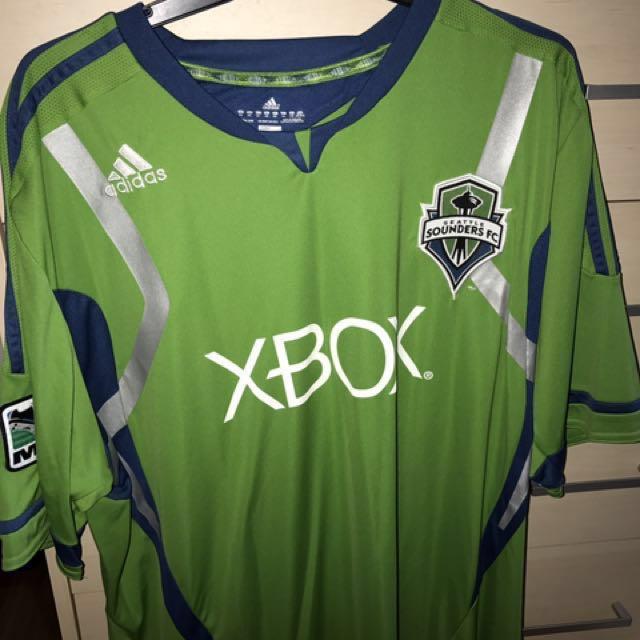 purchase cheap 007d3 95ce4 Seattle Sounders Football Soccer Jersey MLS Original