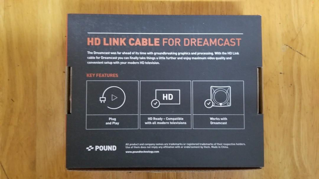 Sega Dreamcast Pound HD Link-Dreamcast