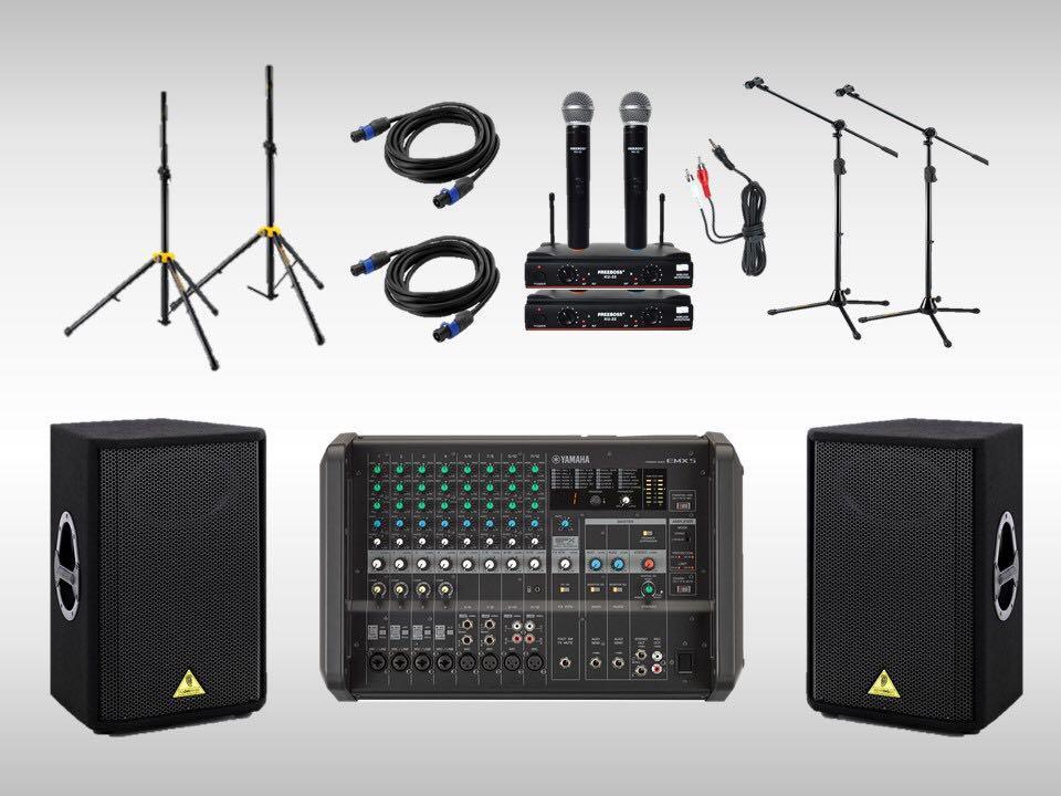 Sound System / PA System Rental @$225