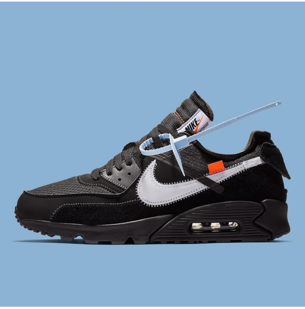 Abloh Air Max Us Nike 90 TenOff White 11 Virgil Black The 0NOXZkP8nw