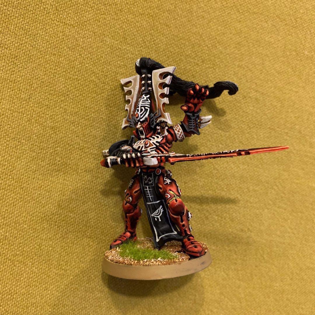 W40k Figurines Warhammer Eldar Aeldari Avatar with Sword
