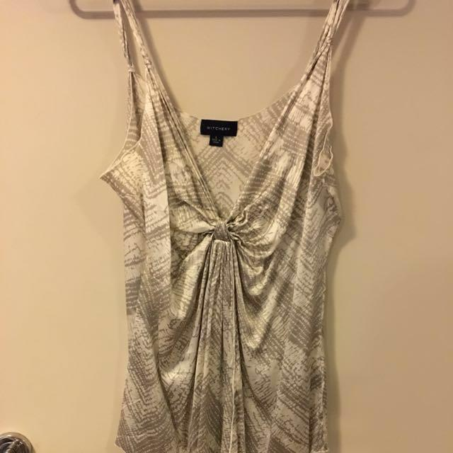 Witchery Silk Top Size L