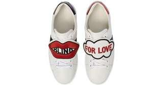Gucci blind for love ace sneakers