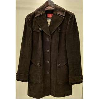 Cole Haan Suede Winter Jacket Size M