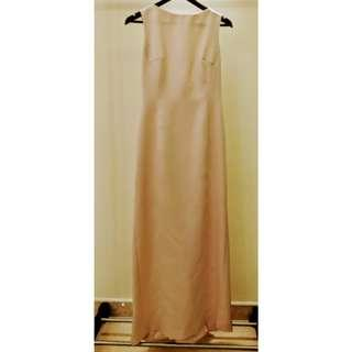 Pink Evening Gown Size M
