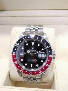 🚚 Rolex GMT Master II 16710 Coke