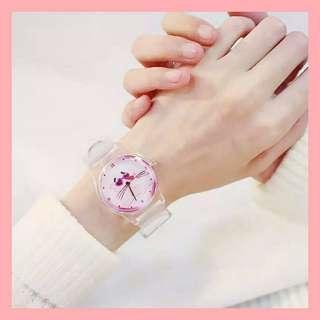 Jam Tangan Pink Panther
