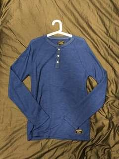 Abercrombie & Fitch Long Sleeve Henley