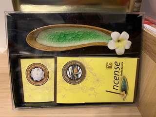 香薰套裝 Jasmine & Vanilla incense kit
