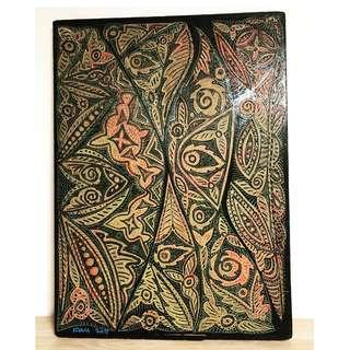 Exquisite Batik Motif Painting