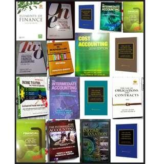 ACCOUNTING / LAW / REVIEWER BOOKS