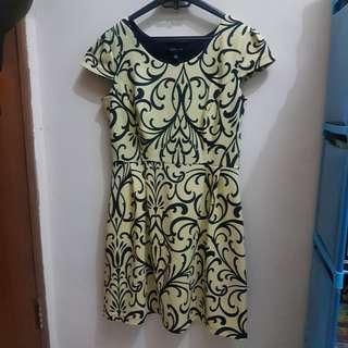 Dress Enfocus Kuning big size