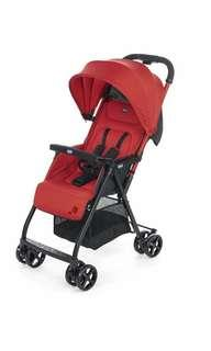 Brand New Chicco Ohlala Stroller, Paprika, Red