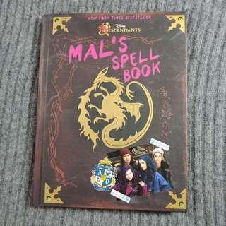 the descendants: mal's spell book