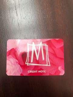 M Boutique Store credit $77.97