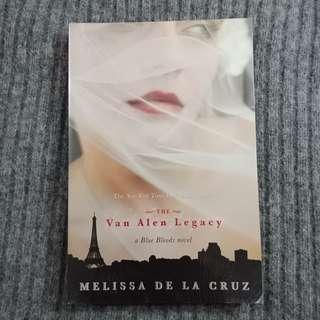 the van alen legacy (a blue bloods novel #3)