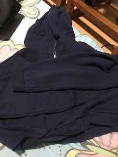 Hnm hoodie crop
