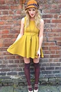 Dress H&M Kuning big size