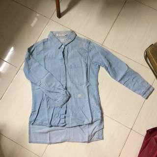 Kemeja jeans / denim shirt