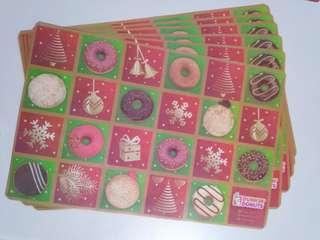 🆕12 pcs placemats by DD