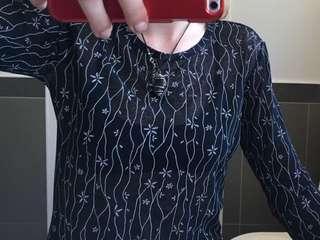 Insight mesh long sleeve