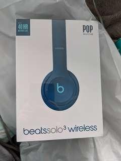 Sealed BeatsSolo3 Wireless Headphones