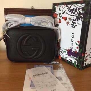 Gucci soho sling bag