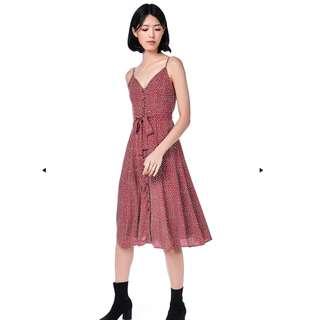 ed967803a2 The Editor s Market Lorita Linen off shoulder dress