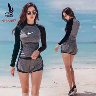 Nike Rushgard terno Free size Can fit to M L