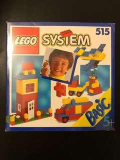 Lego Basic 515 from 1990 (Opened box)