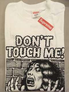 Supreme S/S07 R. Crumb ''DON'T TOUCH ME'' Tee box