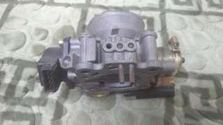 Throttle body wira 1.6 (mmc)