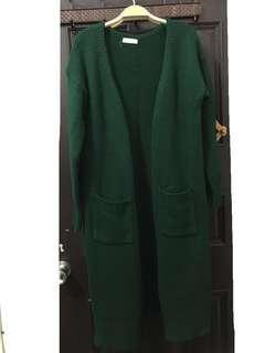 墨綠針織外套🌿💚