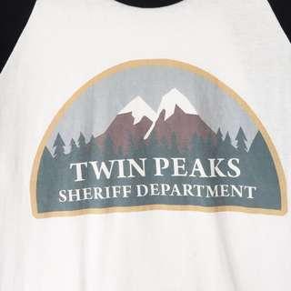Twin Peaks Baseball Tee