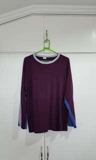 Bench Long Sleeve/ Pull over Size Medium (Fits Large)