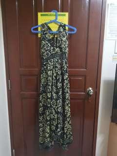 Sexy Santiki Floral Maxi Dress