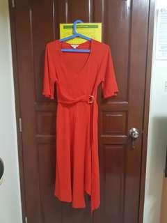 SALE Miss Selfridge Red Dress