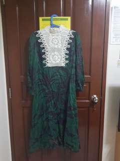 Sale Zara Green Dress